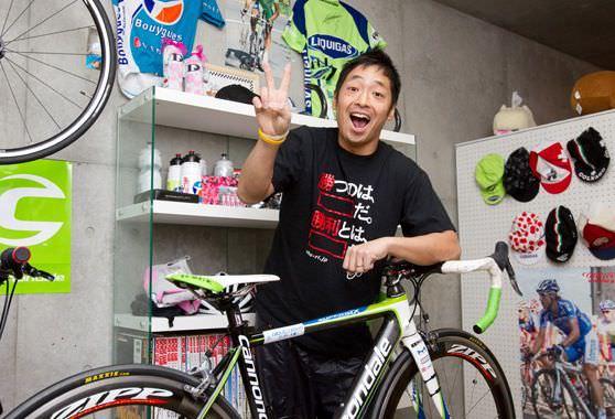 自転車好きな有名人・芸能人 | ロードバイク・クロ …